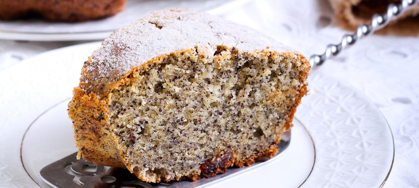 Ricetta torta ai semi di papavero