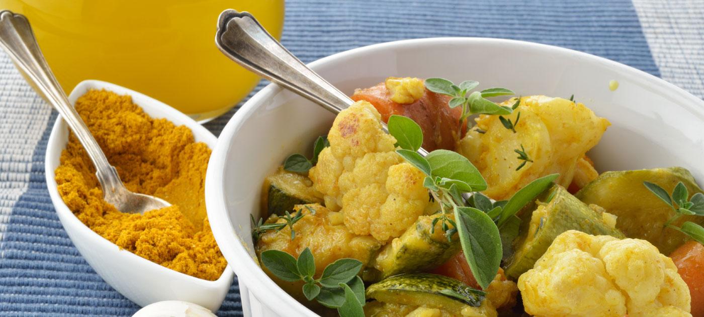 Ricetta verdure al curry