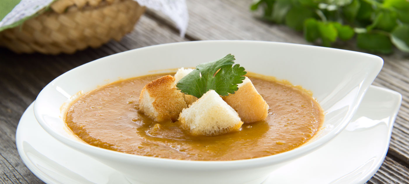 Ricetta zuppa di lenticchie al curry